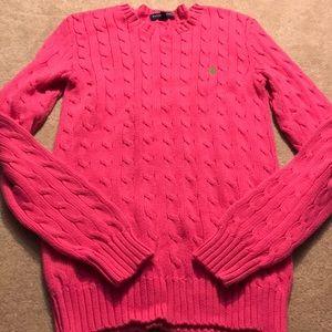 😎RL Pink Sweater